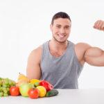الغذاء يساعدك على بناء العضلات