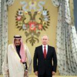 صور استقبال تاريخي للملك سلمان في روسيا