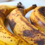 بقع الموز الداكنه فوائدها كبيره !