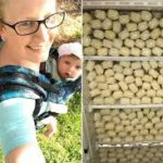بالفيديو: سيدة أمريكية ينتج صدرها ١.٧٥ جالون من الحليب يوميا ، وتحتفظ به في ثلاجة .. تقول أنها تبرعت بنحو ٧٠٠