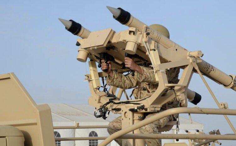 قوات الدفاع الجوي السعودي تعترض صاروخًا باليستيًّا شمال الرياض