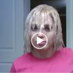 فيديو: خطر سحب لون الشعر تحذير للبنات