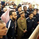 تفريغ الروضة الشريفة للاعبي الهلال و شؤون المسجد النبوي تنفي