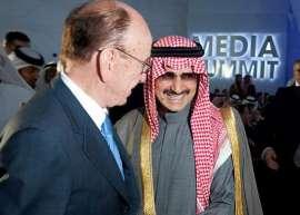 """بعد توقيف الوليد بن طلال """"مردوخ"""" يبيع """"فوكس"""""""