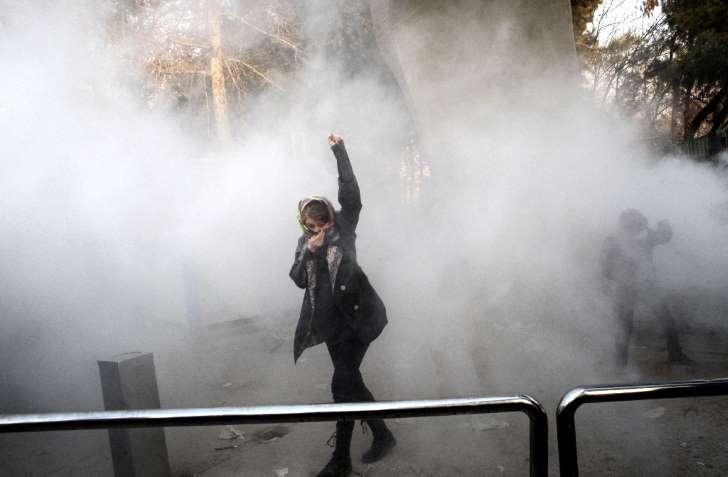 التظاهرات في ايران