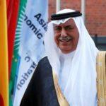 العساف وزير المالية السابق بعد احتجازه يحضر اجتماعا لمجلس الوزراء السعودي