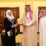 المعلمة السعودية الفائزة بجائزة مايكروسوفت من بين 90 دولة