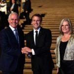 """في زلة لسان.. ماكرون يصف زوجة رئيس وزراء استراليا بأنها """"لذيذة"""""""