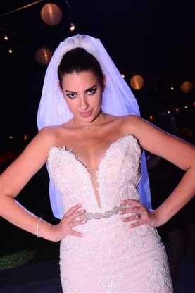 بالصور حفل زواج ملكة جمال مصر السابقة ومقدمة البرامج إلهام وجدي