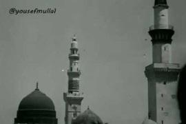 """فيديو""""نادر"""" للمدينة المنورة قبل أكثر من 90 عامًا"""