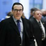 """تدهور كبير للأسهم الأمريكية بعد انسحاب وزير الخزانة من """"دافوس الصحراء"""""""