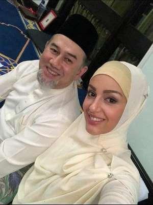 زواج ملك ماليزيا من ملكة جمال روسيا