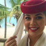 """مضيفة """"الإماراتية"""" التي فازت بمكلة جمال أسكتلندا"""