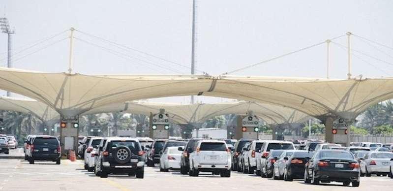 تفاصيل الاعتداء على موظفة جمارك جسر الملك فهد