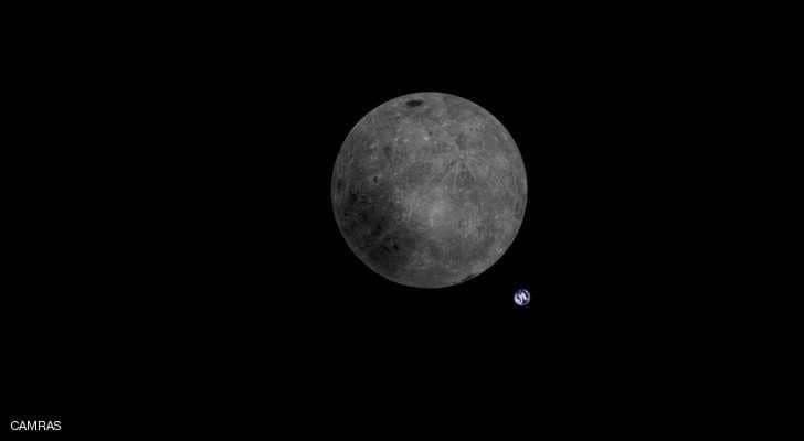 الأرض من خلف القمر.. صورة تحبس الأنفاس