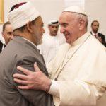 بابا الفاتيكان وشيخ الأزهر في الإمارات