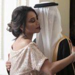 """بسمة وهبه تحتفل بزفاف ابنها السعودي وتظهر بـ """"العباءة السوداء""""!"""
