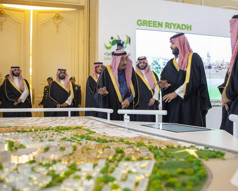 خادم الحرمين الشريفين يطلق 4 مشاريع كبرى بالرياض بقيمة 86 مليار ريال