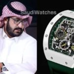 ساعة رئيس النصر ضمن أغلى الساعات في أيدي مشاهير كرة القدم