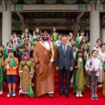 فيديو وصور استقبال ولي العهد السعودي  استقبال مهيب