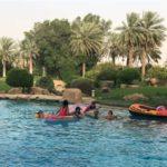 """بالصور.. الوليد بن طلال يقضي العيد مع حفيداته ويعلق: """"عيد رياضي"""""""