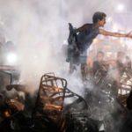 مقتل وإصابة نحو 50 شخصا في حادث انفجار سيارة وسط القاهرة