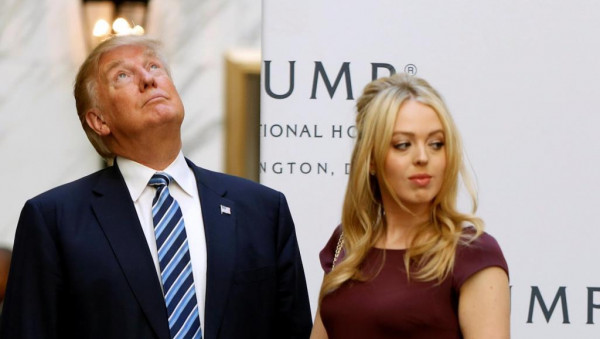 إيفانكا المدللة ترامب يرفض الظهور بجوار ابنته تيفاني بسبب وزنها الزائد