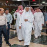 بالفيديو والصور.. وزير الطاقة يتفقد معامل شركة أرامكو السعودية في بقيق