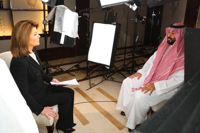 فيديو: ولي العهد السعودي محمد بن سلمان على قناة CBS في برنامج 60 دقيقة