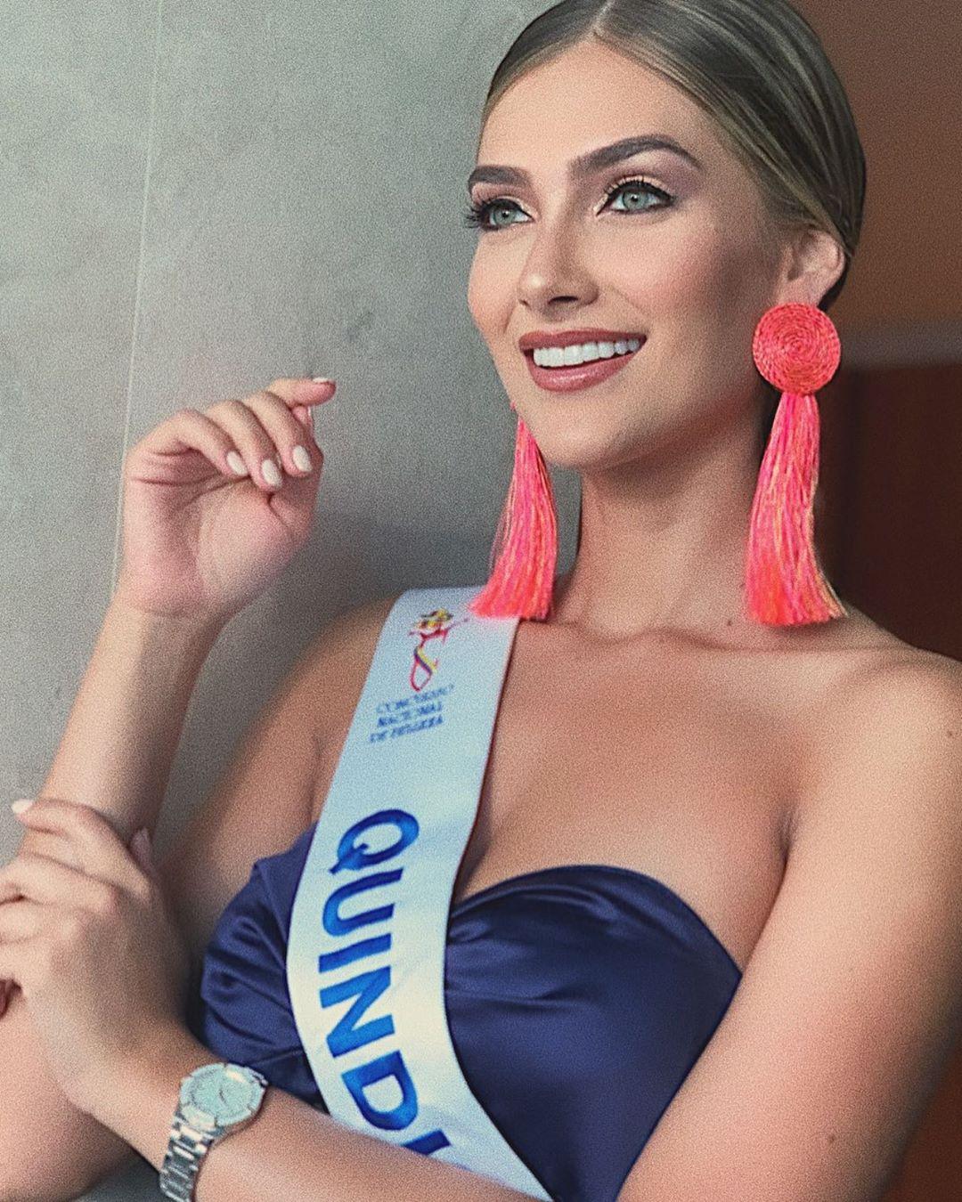 بالفيديو والصور: ملكة جمال كولومبيا 2020 ماريا فريناندا