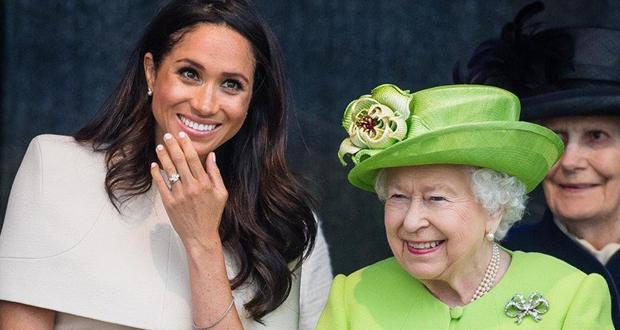 الملكة البريطانية وميغان ماركل