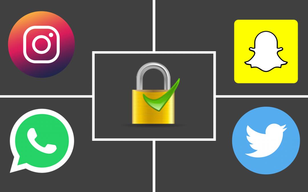 طريقة تأمين حساباتك واتساب، انستغرام، سناب شات وتويتر