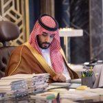 اليوم سمو ولي العهد محمد بن سلمان في لقاء خاص.