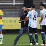 إيقاف مباراة البرازيل والأرجنتين